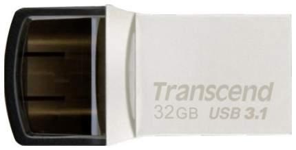 USB-флешка Transcend JetFlash 890 32GB Silver (TS32GJF890S)