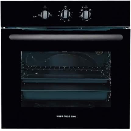 Встраиваемый газовый духовой шкаф KUPPERSBERG HGG 663 B Black