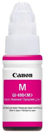 Картридж для струйного принтера Canon GI-490 M пурпурный, оригинал