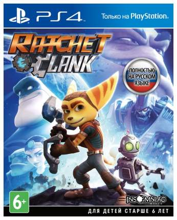 Игра для PlayStation 4 Ratchet & Clank