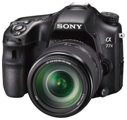 Фотоаппарат цифровой зеркальный Sony Alpha ILCA-A77 II Kit 18-135 Black (ILCA-77M2M) Black