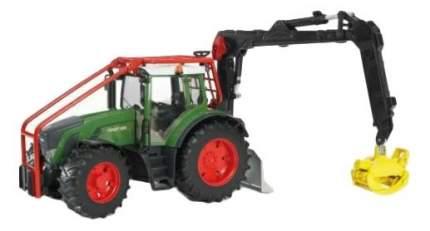 Трактор Bruder Fendt 936 vario лесной с манипулятором