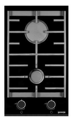 Встраиваемая варочная панель газовая Gorenje GC341UC Black
