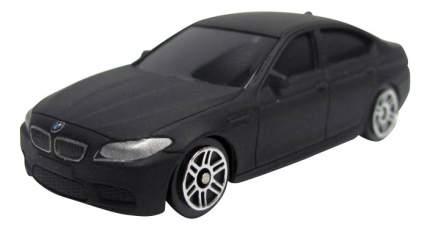 Машина металлическая Uni-Fortune 1:64 BMW M5 без механизмов черный матовый
