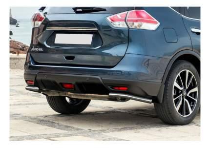 Защита заднего бампера RIVAL для Nissan (R.4122.009)