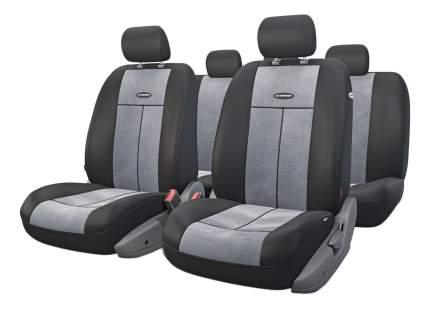 Комплект чехлов на сиденья Autoprofi TT-902V BK/D.GY