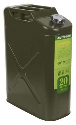 Канистра для бензина Autoprofi KAN-100 20 л 345x455 зеленый