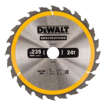 Диск по дереву для дисковых пил DeWALT DT1954-QZ