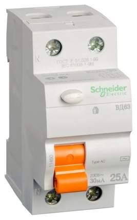 Устройство защитного отключения Schneider Electric ВД63 2П 16A 10мА 1454