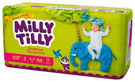 Подгузники для новорожденных Milly Tilly Mini 2 (3-6 кг), 44 шт.
