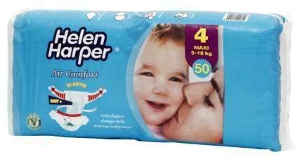 Подгузники Helen Harper Air Comfort Maxi 4 (9-18 кг), 50 шт.