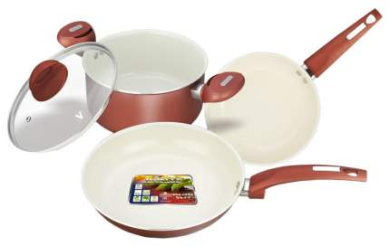 Набор посуды Vitesse VS-2216 Красный