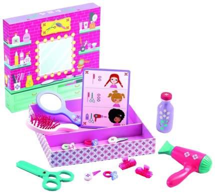 Набор парикмахера игрушечный Djeco Парикмахерская 6659
