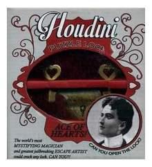 Головоломка Головоломка Стиль Жизни Houdini Ace Of Hearts! Чудо Замок Для Детей