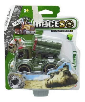Военный Джип Junfa Toys Races с ракетной установкой