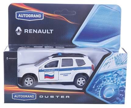 Коллекционная модель Autotime RENAULT DUSTER Полиция 1:38