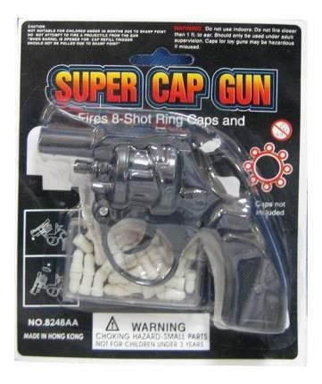 Пистолет с пластмассовыми пульками, на блистере, 13х10х3 см