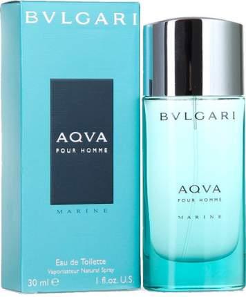 Туалетная вода BVLGARI Aqva Pour Homme Marine 30 мл