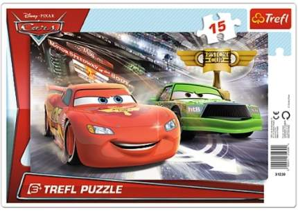 Пазл TREFL Тачки 2 на трассе. 15 деталей (31230)