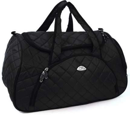 Дорожная сумка Polar Модерн черная 54 x 30 x 35