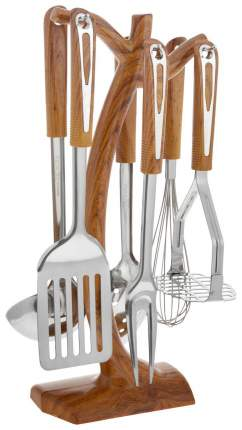 Набор кухонных принадлежностей Mayer&Boch 2924 Серебристый, коричневый
