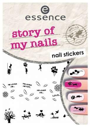 Наклейка для ногтей essence Nail Art Sticker 06 Story of My Nails