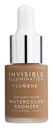 Бронзер для лица Lumene Invisible Illumination Instant Glow Watercolor Bronzer 15 мл