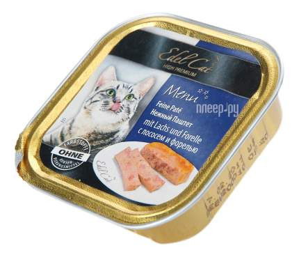 Консервы для кошек Edel Cat, лосось, рыба, 100г