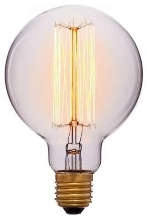 Лампа накаливания E27 60W шар прозрачный 052-290