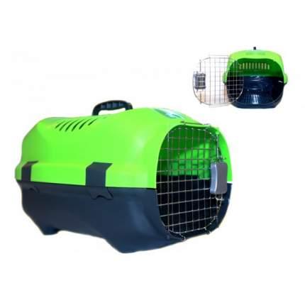 Переноска для животных Родные места 30x47x29см 0136568002 зеленый