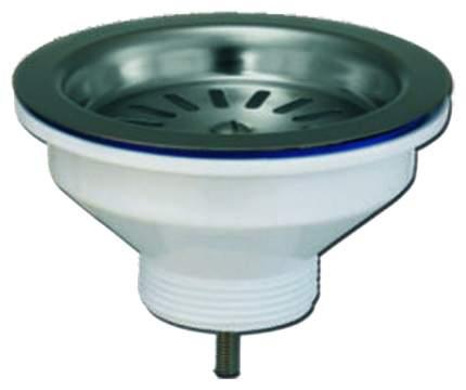 Выпуск для мойки Wirquin Чаша D90 мм из нержавеющей стали, без перелива