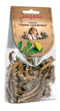 Лакомство для грызунов Закрома Угощение Корень одуванчика, 60г