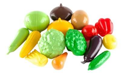 Набор овощей игрушечный Пластмастер Большой набор овощей