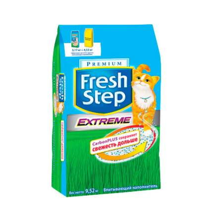 Наполнитель для туалета Fresh Step Впитывающий 9.52 кг Без запаха