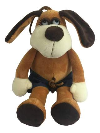 Мягкая игрушка Teddy Собака в шортах, 15 см