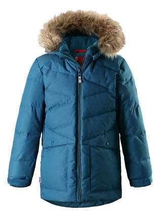 Куртка детская Reima Jussi синяя для мальчика 152 размер