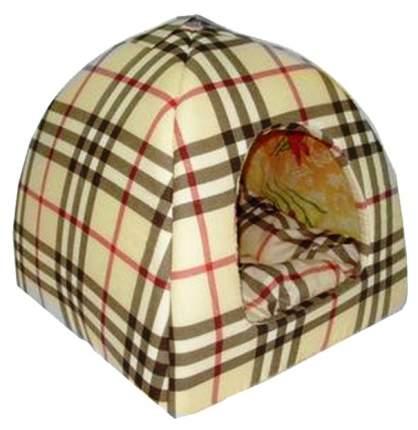 Домик для собак Бобровый Дворик текстиль, 35х39х39см, цвет в ассортименте
