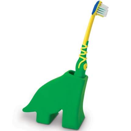 Держатель для зубных щеток j-me Dinosaur зеленый