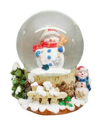 Снежный шар Новогодняя сказка Снеговик 10 см 973001