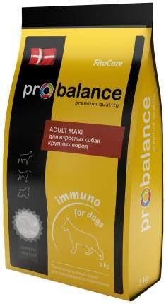 ProBalance Immuno Adult Maxi д/взрослых собак крупных пород, 3кг