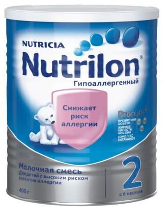 Молочная смесь Nutrilon Гипоаллергенный 2 от 6 до 12 мес. 400 г