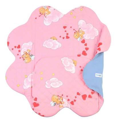 Конверт для новорожденных Light Denim Style Pink Ramili Baby KRLDS02