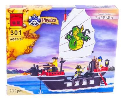 Конструктор пластиковый Brick Пиратский корабль
