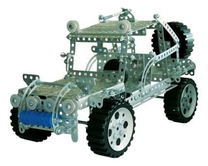 Конструктор металлический Джип 383 детали Тридевятое царство