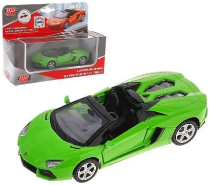 Коллекционная модель Пламенный мотор Lamborghini Aventador LP700-4 Roadste 1:43 870222