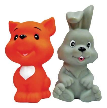 Игрушка для купания Жирафики Лисенок и зайчонок