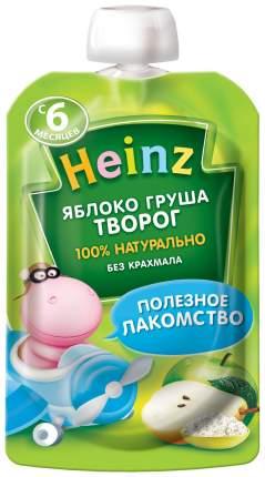 Пюре фруктовое Heinz Яблоко, груша, творог с 6 мес 90 г
