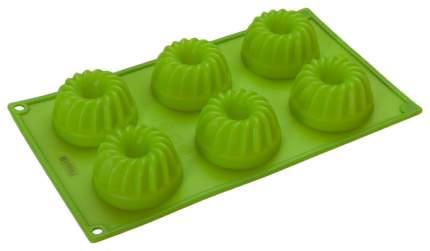 Форма для выпечки Regent Inox Silicone 93-SI-FO-24,2 Зеленый