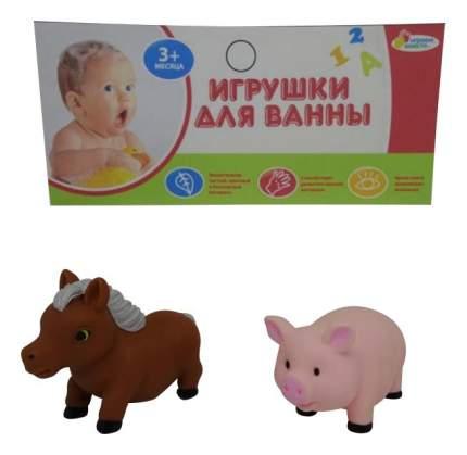 Игрушки для ванной Конь и хрюша Играем вместе LXB104_106