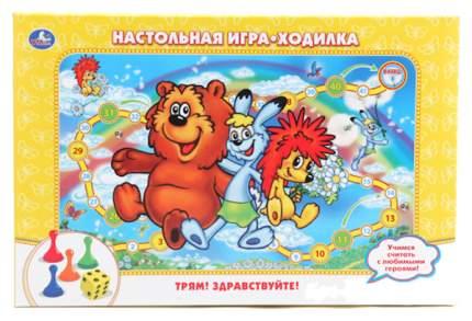 Семейная настольная игра Умка Ходилка Сказочная